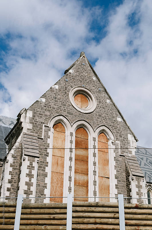 Christchurch Cathedral, Christchurch New Zealand. by Thomas Pickard Photography Ltd. for Stocksy United