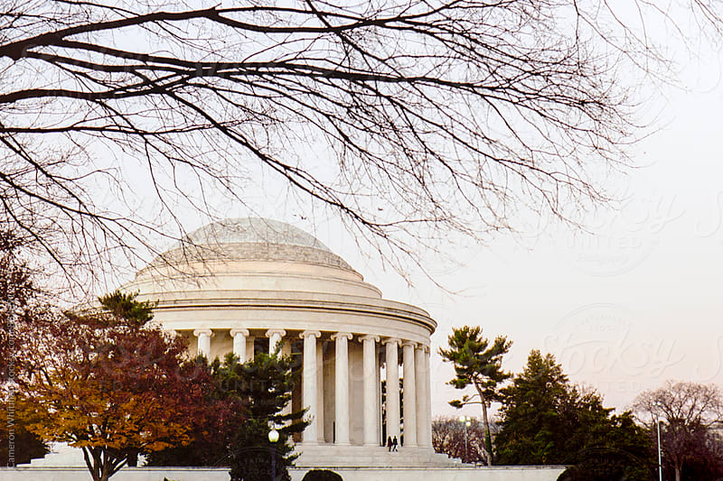 Jefferson Memorial Dome  by Cameron Whitman for Stocksy United