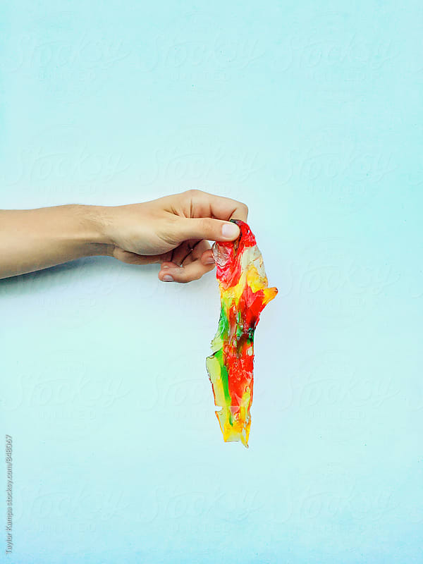 Melted Gummy Bears by Taylor Kampa for Stocksy United