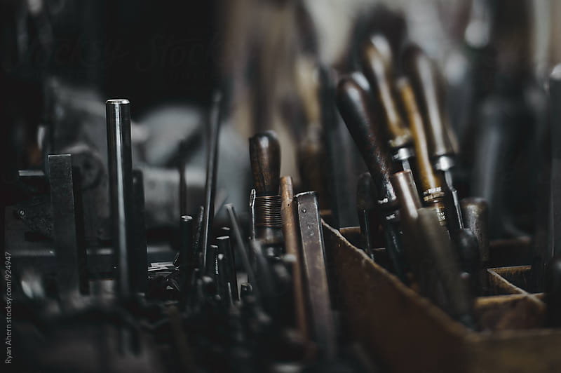 Old Vintage Tools by Ryan Ahern for Stocksy United