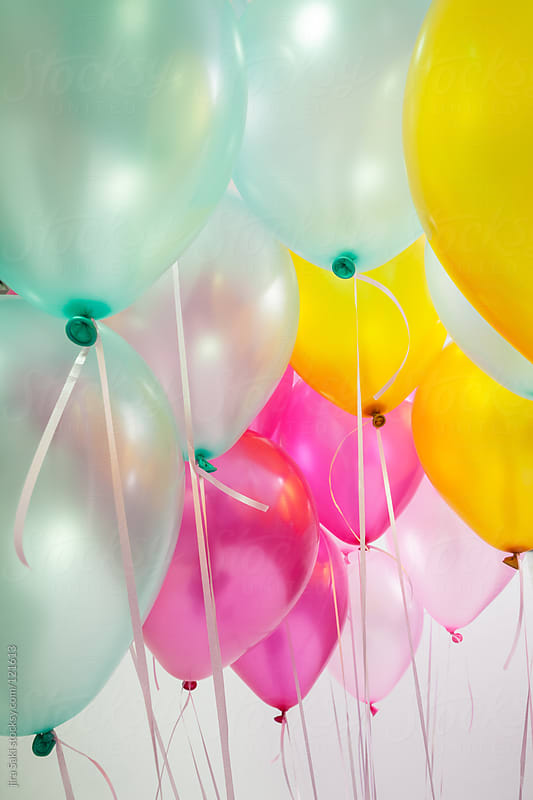 balloons by jira Saki for Stocksy United