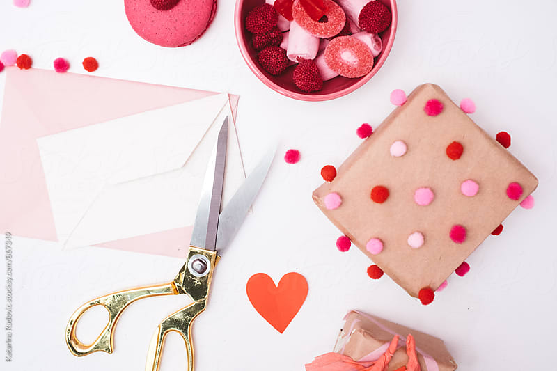 DIY Valentine's Day Gifts and Sweets by Katarina Radovic for Stocksy United