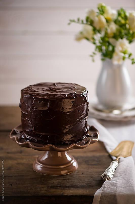 mud cake by Laura Adani for Stocksy United