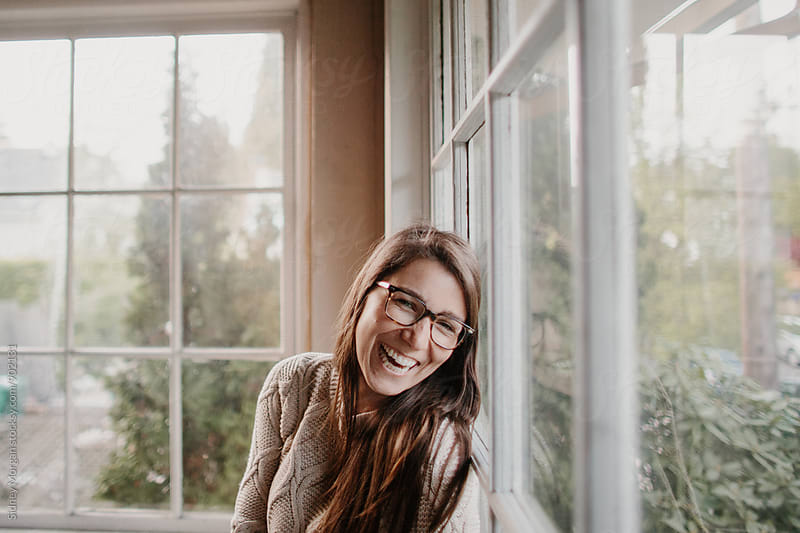 Emma Laughing by Sidney Morgan for Stocksy United