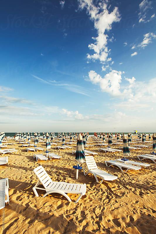resort beach by MEM Studio for Stocksy United