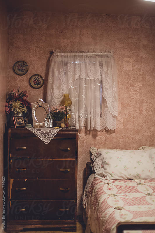 An old-fashioned room in an old mining house by Rachel Bellinsky for Stocksy United