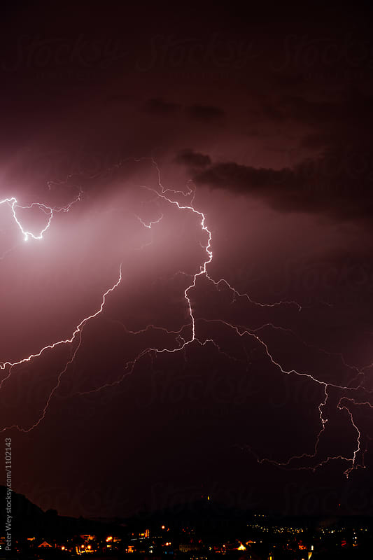Lightning by Peter Wey for Stocksy United