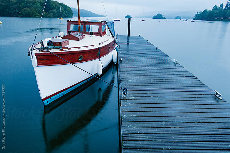 Boat on Lake Windermere by Gary Radler Photography for Stocksy United