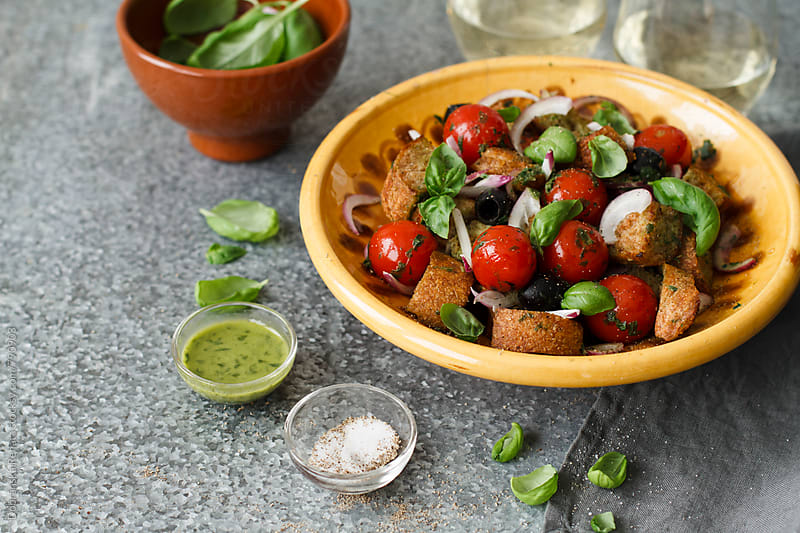 Panzanella  by Dobránska Renáta for Stocksy United