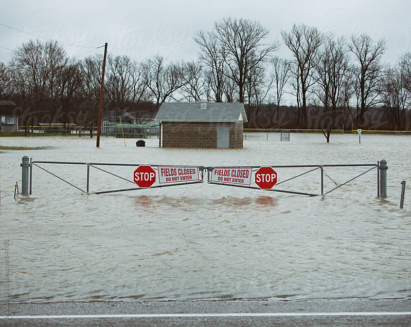 St. Charles, Missouri Flooding 2015 by Sean Locke for Stocksy United