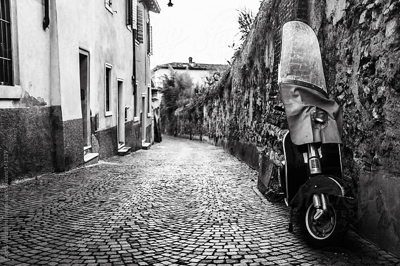 Alley in Italy by Good Vibrations Images for Stocksy United