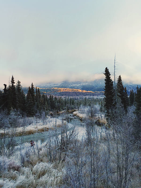 Cooper Landing, AK. by Jovell Rennie for Stocksy United