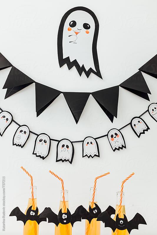 Halloween DIY Party Decoration by Katarina Radovic for Stocksy United