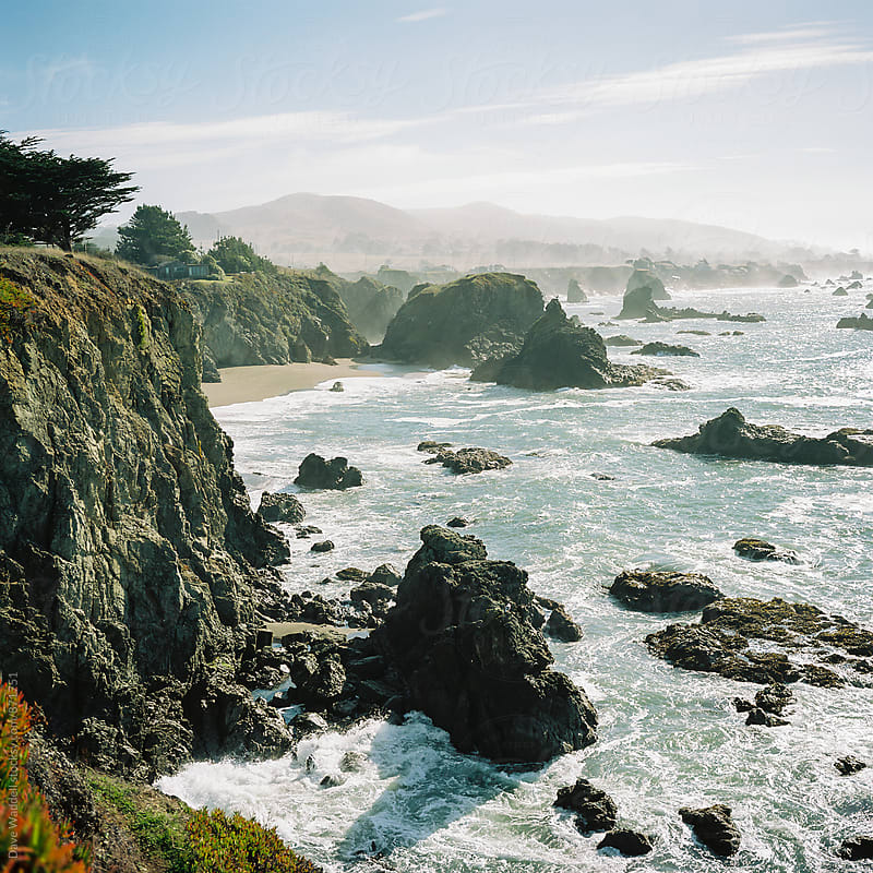 Northern California Coastline by Dave Waddell for Stocksy United