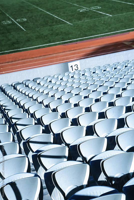 Football Stadium by Raymond Forbes LLC for Stocksy United