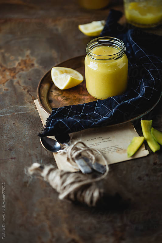Mango smoothie by Tatjana Zlatkovic for Stocksy United