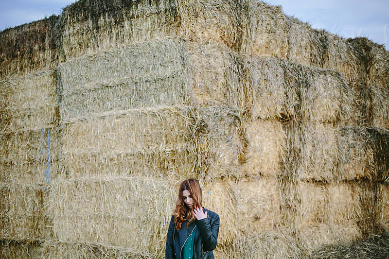 Autumn portrait of young woman  by Peter Meciar for Stocksy United