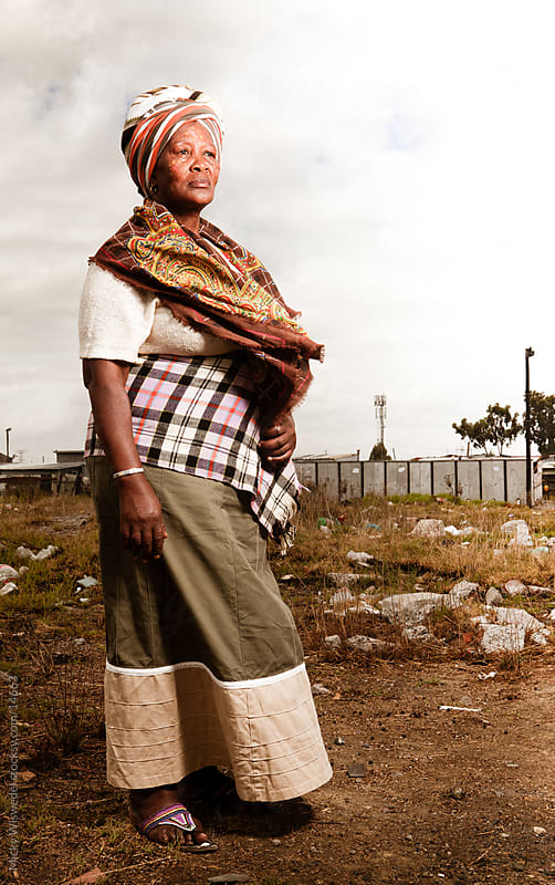 African Xhosa Woman by Micky Wiswedel for Stocksy United