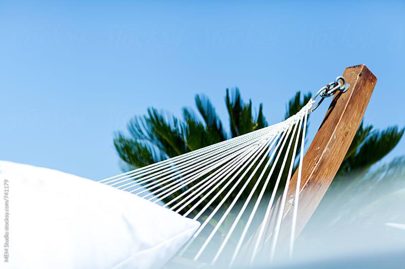 white hammock by MEM Studio for Stocksy United