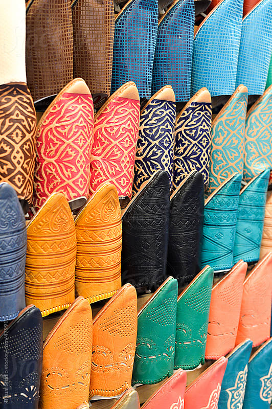 Moroccan slippers by Bisual Studio for Stocksy United