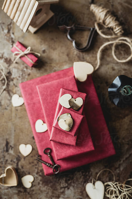 Decoration for Valentine's Day by Tatjana Ristanic for Stocksy United