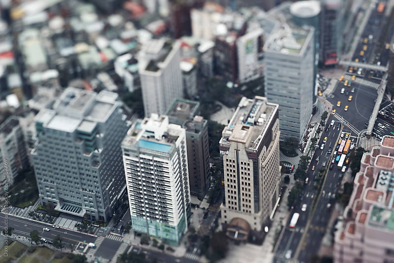 Generic city view by Daxiao Productions for Stocksy United