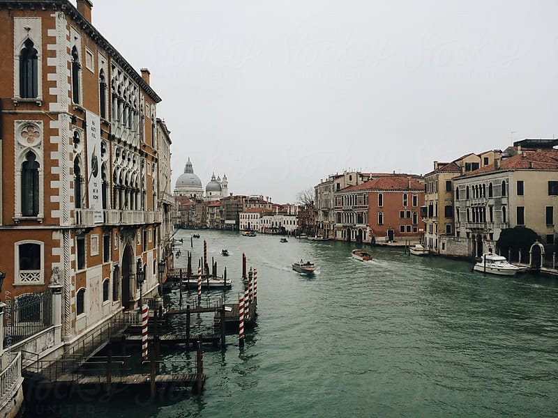 A view to Grand Canal in Venice by Anna Malgina for Stocksy United