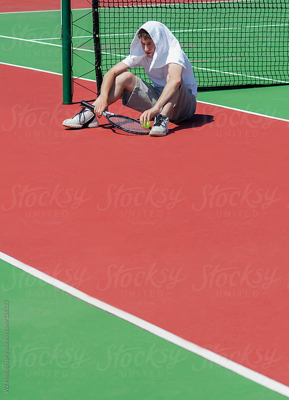 After a tennis game by W2 Photography for Stocksy United