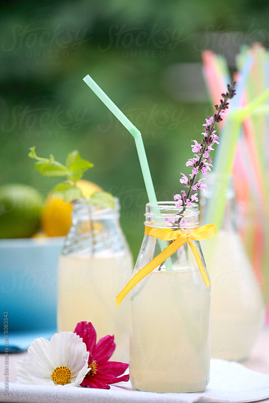 Fresh lemonade by Orsolya Bán for Stocksy United