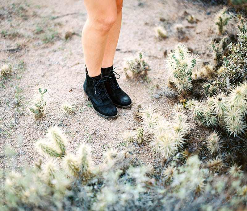 Feet in the desert by Daniel Kim Photography for Stocksy United