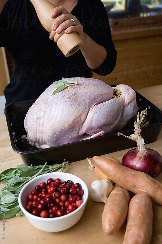 Cooking Turkey by Jill Chen for Stocksy United