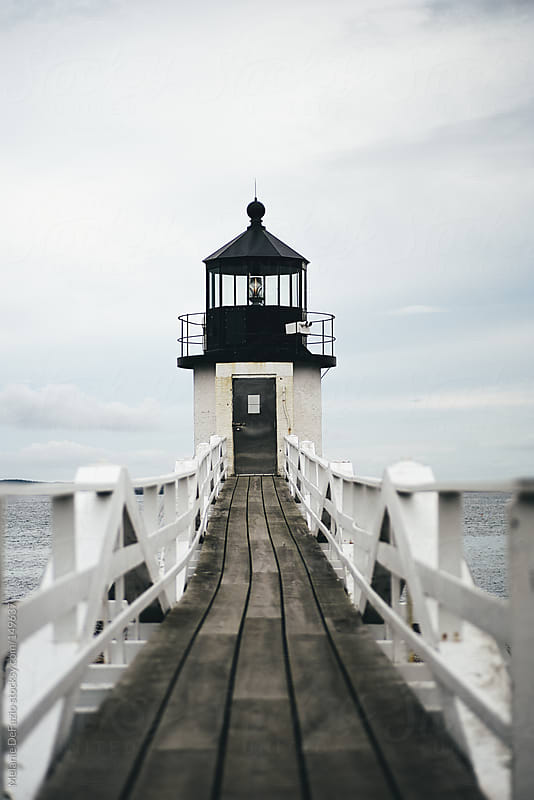Lighthouse by Melanie DeFazio for Stocksy United