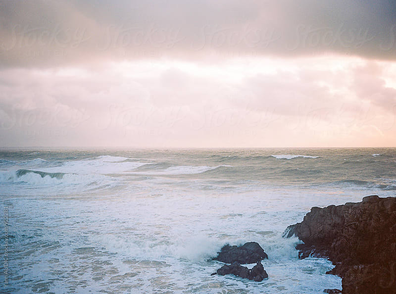 Strom Imogen, Brittany, FRANCE by Yann AUDIC for Stocksy United