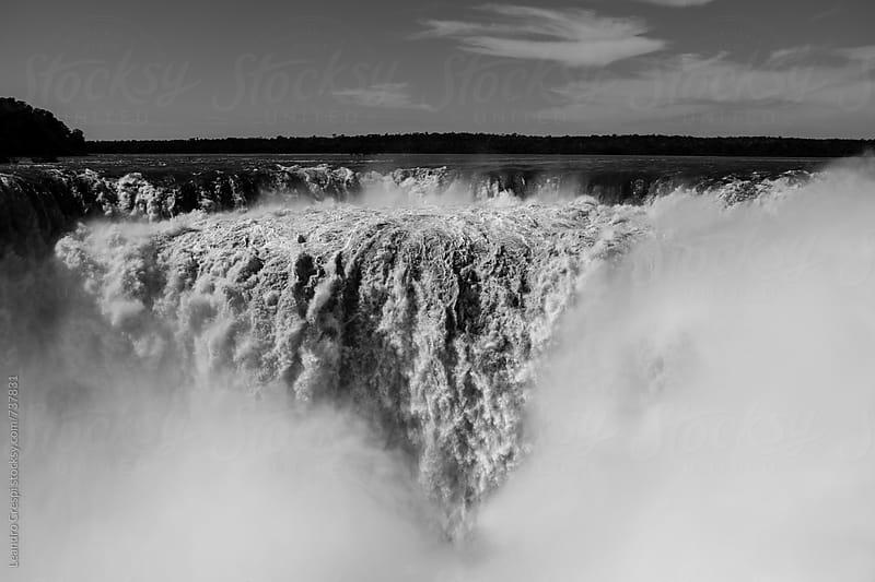 The amazing Iguazu Falls by Leandro Crespi for Stocksy United