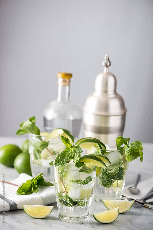 Mojito Cocktails by Studio Six for Stocksy United