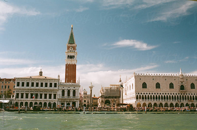 San Marco square from the water by Anna Malgina for Stocksy United