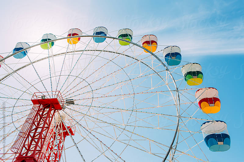 Ferris Wheel in Sydney, Australia by Cameron Zegers for Stocksy United