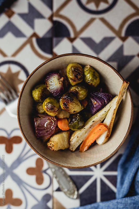 Roasted vegetables by Tatjana Ristanic for Stocksy United
