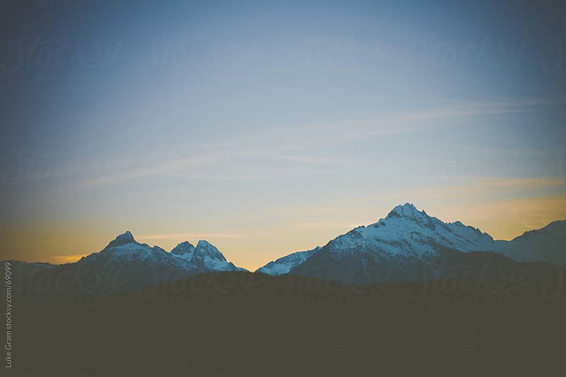 Tantalus Range by Luke Gram for Stocksy United