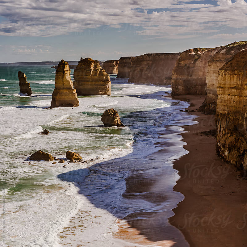 The Twelve Apostles & Great Ocean Road, Australia by Mauro Grigollo for Stocksy United