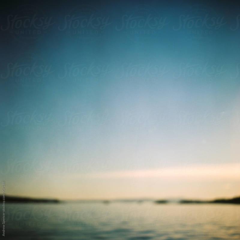 Blurry shot of Oslo Fjord by Andrew Spencer for Stocksy United