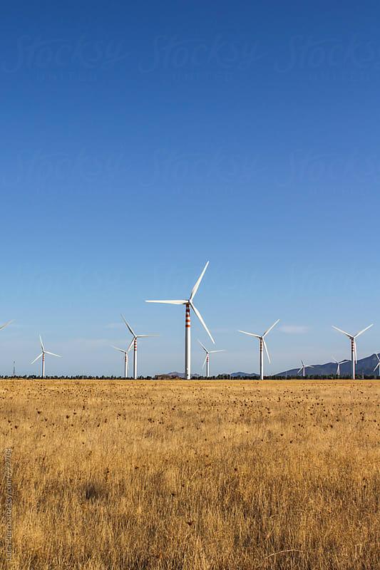 Wind turbines by Luca Pierro for Stocksy United