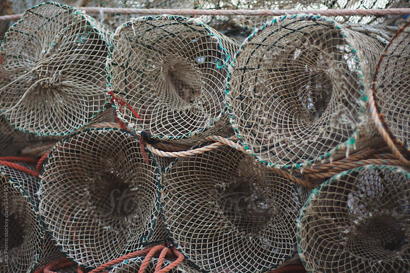 Fish traps by Luca Pierro for Stocksy United
