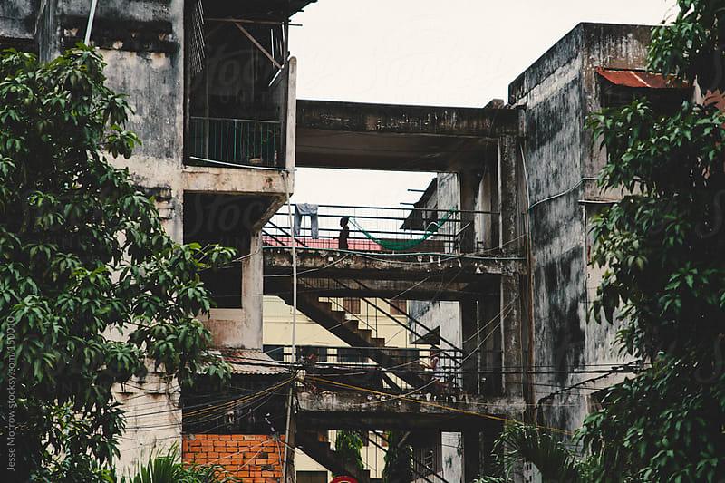 Buildings Phnom Penh Cambodia by Jesse Morrow for Stocksy United