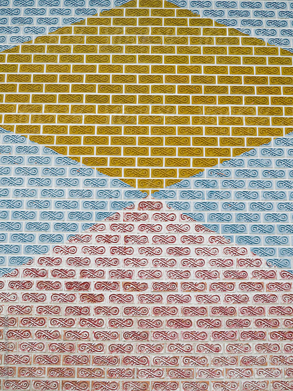 brick wall by jira Saki for Stocksy United