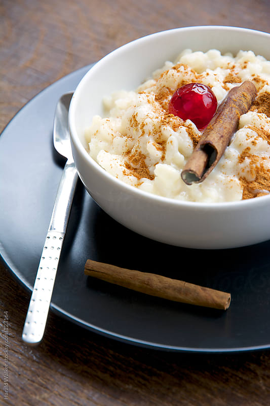 Rice pudding by Harald Walker for Stocksy United
