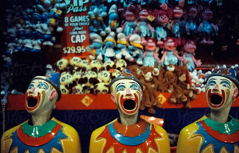 Fairground Clowns by Felipe Neves for Stocksy United