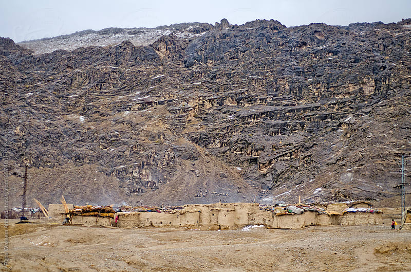 An Afghan Refugee settlement near Quetta Balochistan  by Agha Waseem Ahmed for Stocksy United