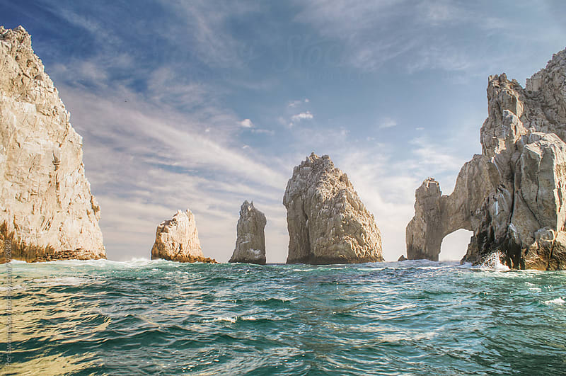 Cabo San Lucas famous arch rock  by Per Swantesson for Stocksy United