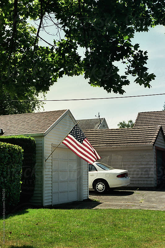 American flag by michela ravasio for Stocksy United